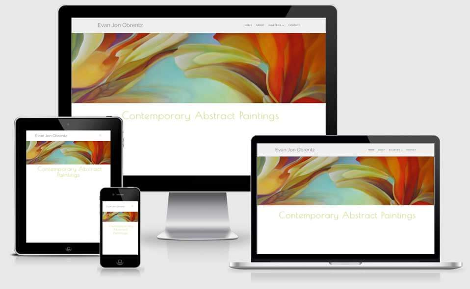 Evan Obrentz Art website