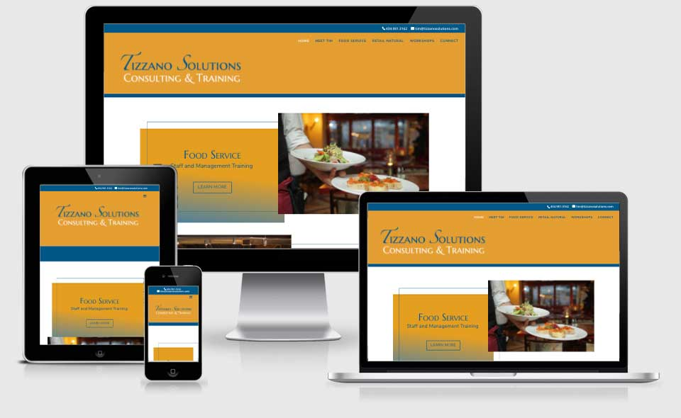 Tizzano Solutions website