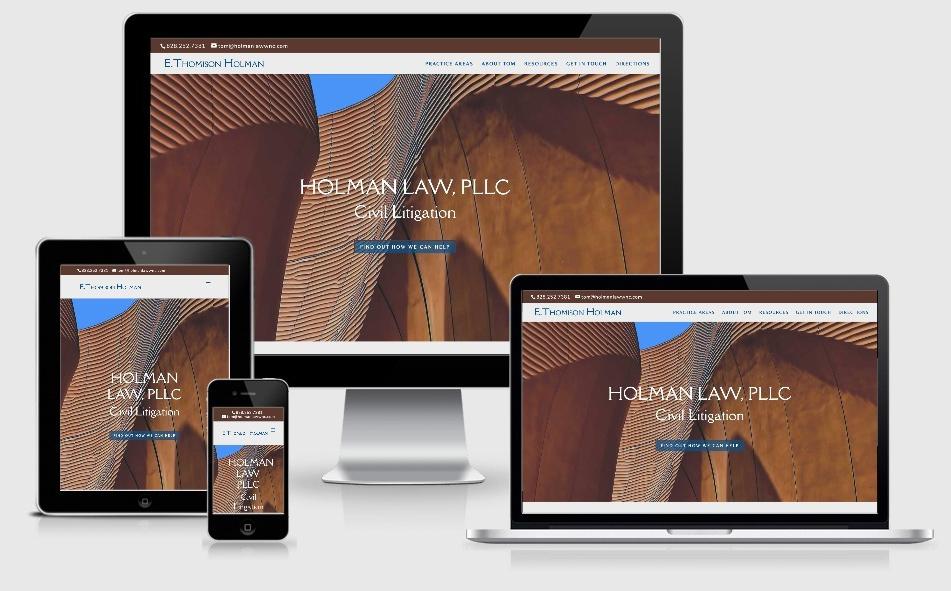 Holman Law website