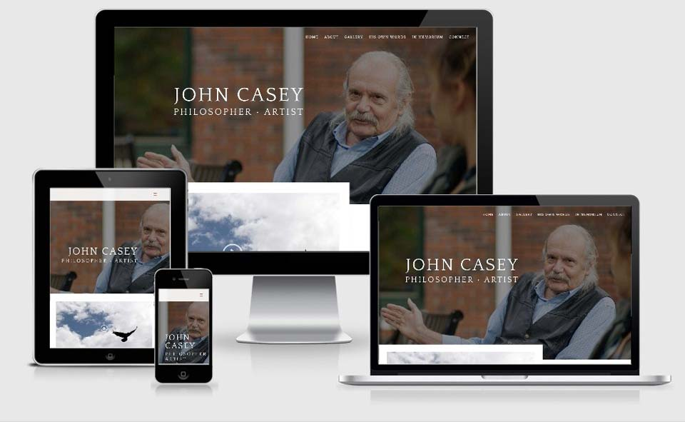 John Casey Philosopher Artist website