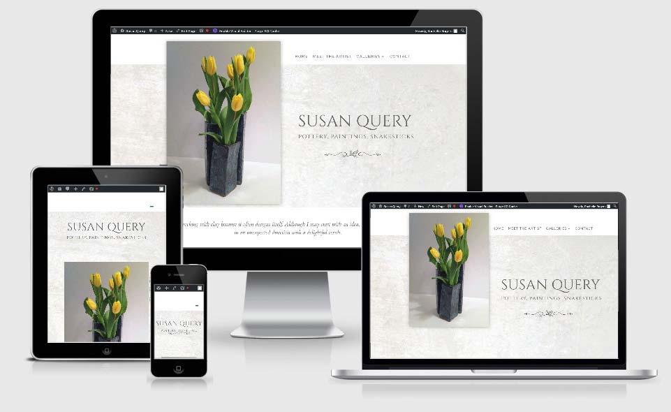 Susan Query Art website