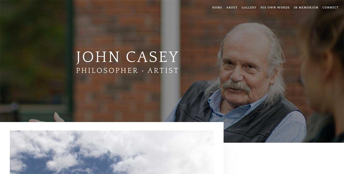 John Casey Philosopher Artist