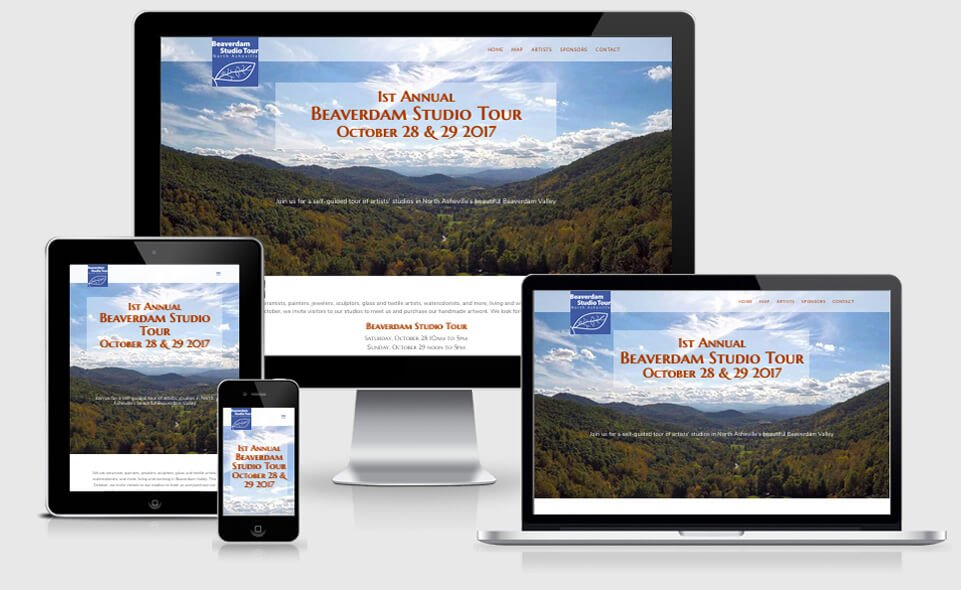 Beaverdam Studio Tour website