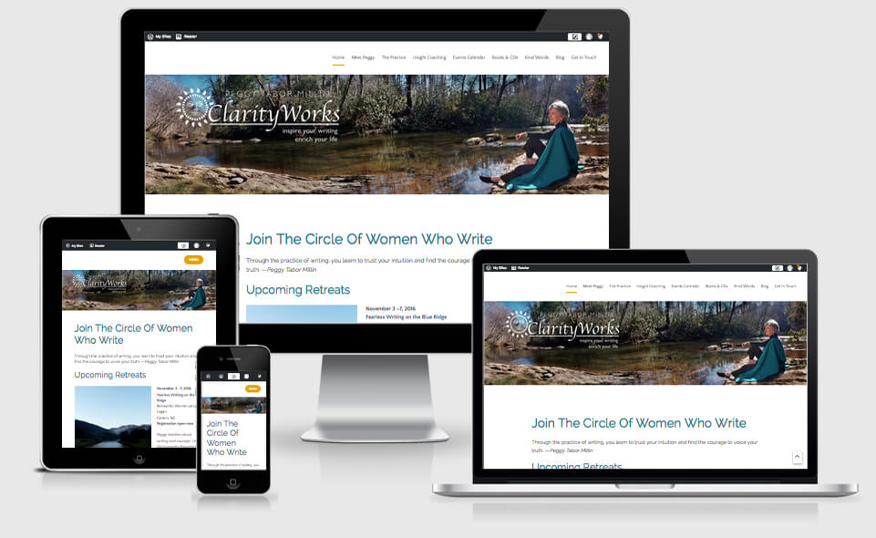 Clarity Works Online website