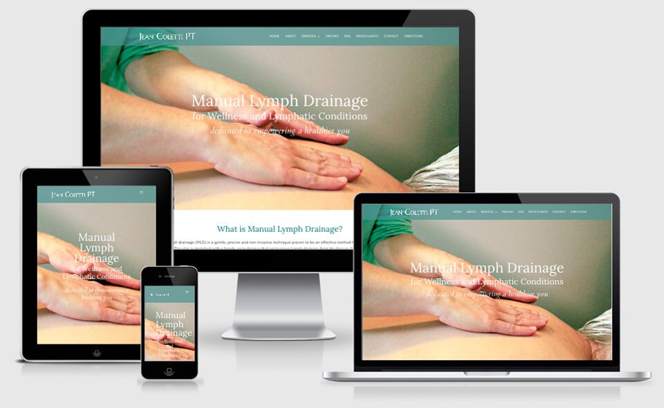 Jean Coletti Physical Therapist website