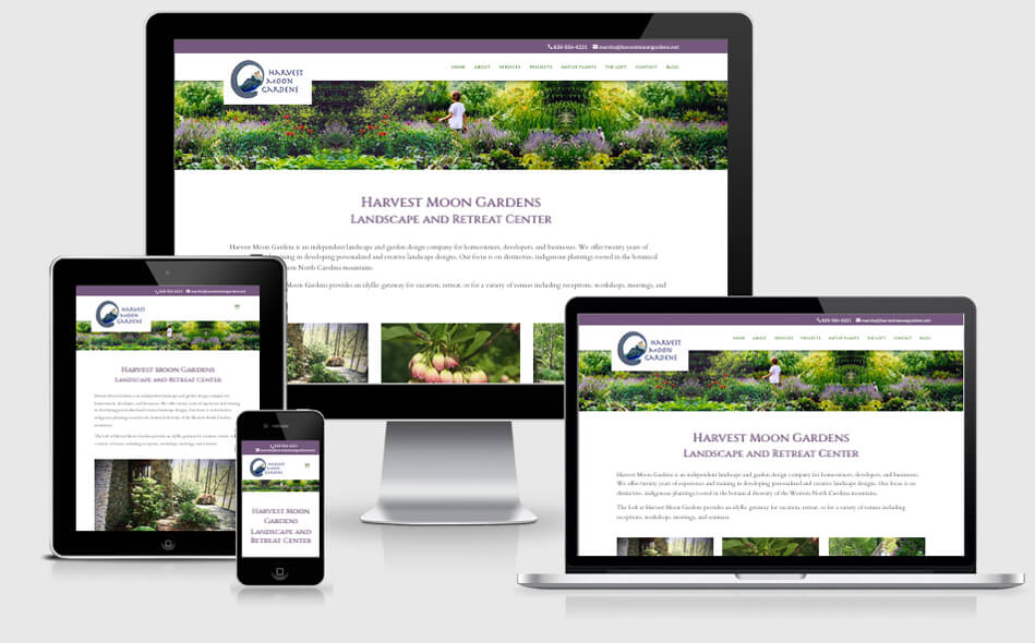 Harvest Moon Gardens website