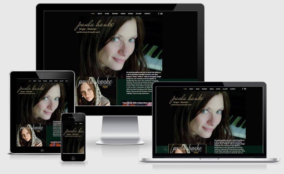 Paula Hanke Singer website