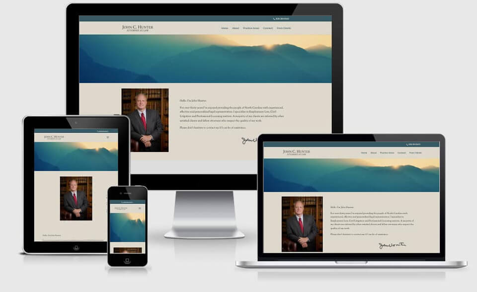 JCH Law Firm website