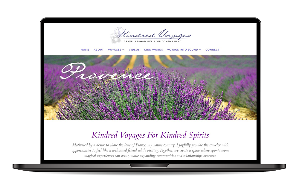 Kindred Voyages website