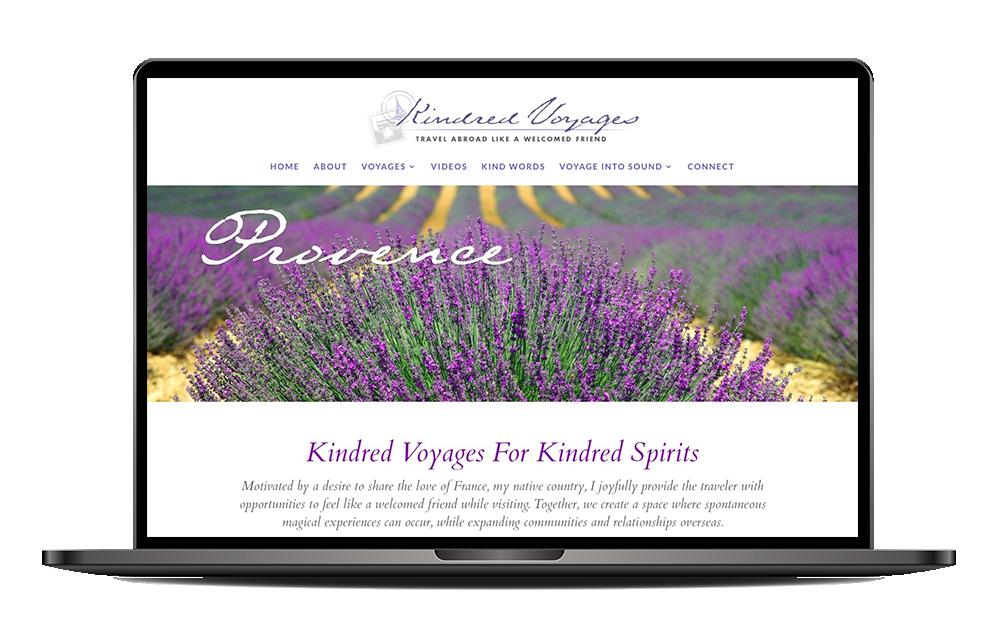 Kindred Voyages website