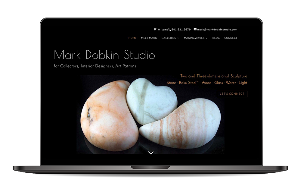 Mark Dobkin Studio website