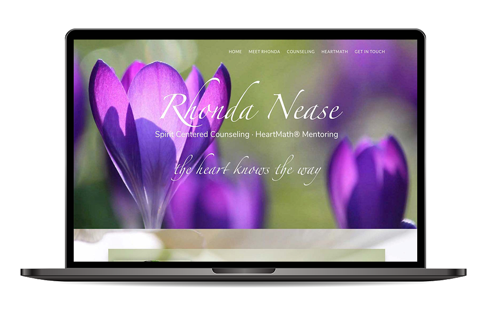 Rhonda Nease Spirit Centered Counseling website