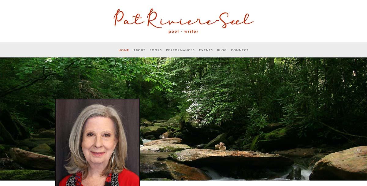 Pat Riviere-Seel Poet . Writer